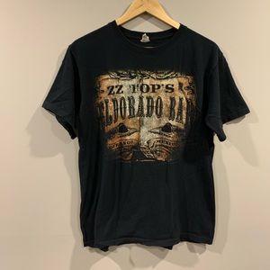 ZZ Top's Eldorado Bar 2012 Concert Tour T-Shirt